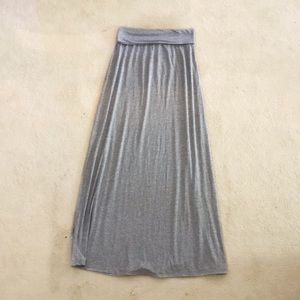 Splendid Gray Maxi Skirt